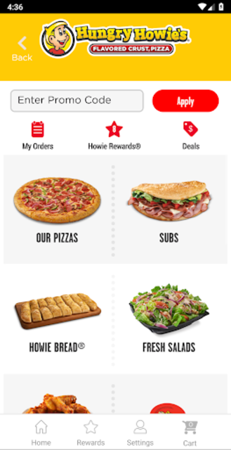 Hungry Howies Pizza screenshot 3