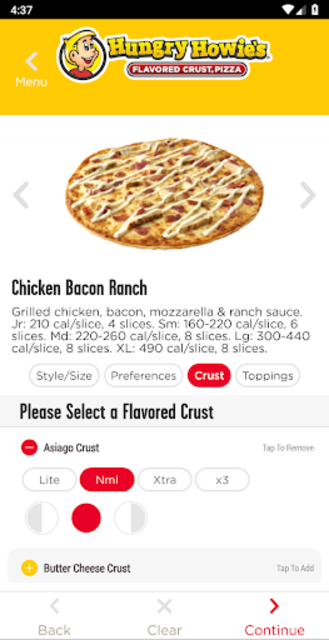 Hungry Howies Pizza screenshot 4