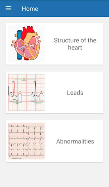 ECG  Interpretation and Tests. screenshot 1