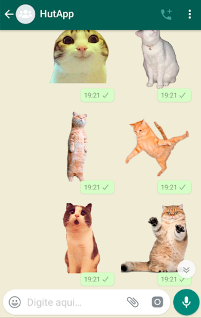 Best Cat Stickers for Chat WAStickerApps screenshot 5