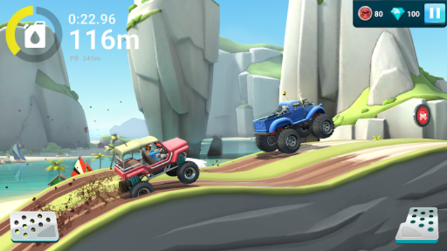 MMX Hill Dash 2 – Offroad Truck, Car & Bike Racing screenshot 10