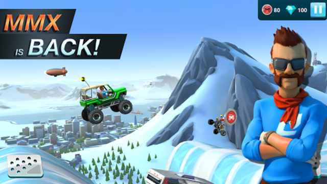 MMX Hill Dash 2 – Offroad Truck, Car & Bike Racing screenshot 1