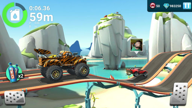 MMX Hill Dash 2 – Offroad Truck, Car & Bike Racing screenshot 2