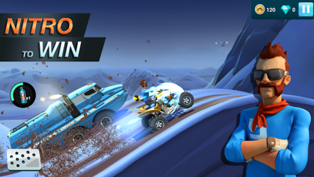 MMX Hill Dash 2 – Offroad Truck, Car & Bike Racing screenshot 3