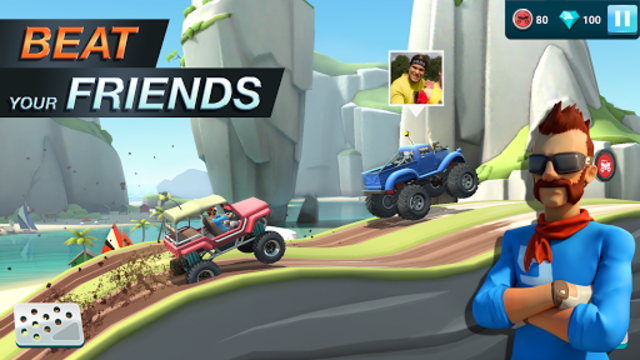 MMX Hill Dash 2 – Offroad Truck, Car & Bike Racing screenshot 4