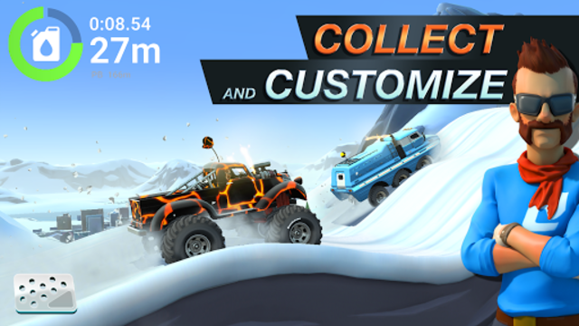 MMX Hill Dash 2 – Offroad Truck, Car & Bike Racing screenshot 6