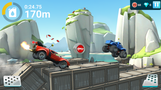 MMX Hill Dash 2 – Offroad Truck, Car & Bike Racing screenshot 7