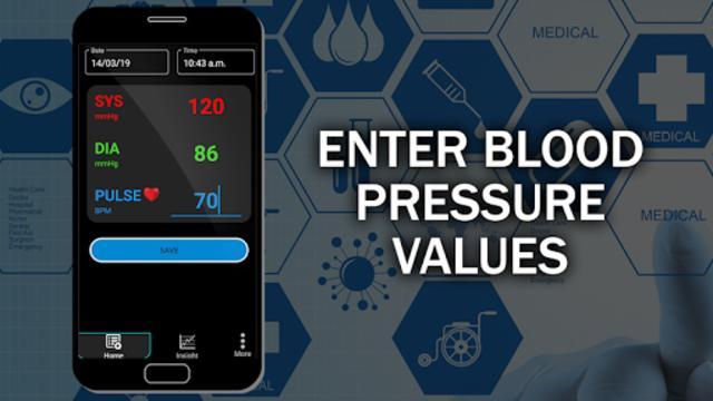 Blood Pressure Checker Diary : BP Info History Log screenshot 1