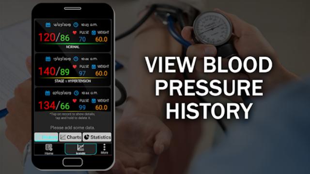 Blood Pressure Checker Diary : BP Info History Log screenshot 2