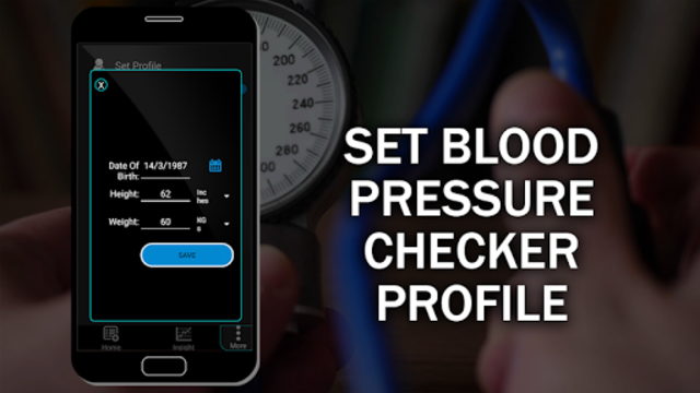 Blood Pressure Checker Diary : BP Info History Log screenshot 5