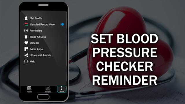 Blood Pressure Checker Diary : BP Info History Log screenshot 6