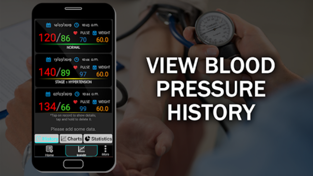 Blood Pressure Checker Diary : BP Info History Log screenshot 10