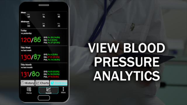 Blood Pressure Checker Diary : BP Info History Log screenshot 12