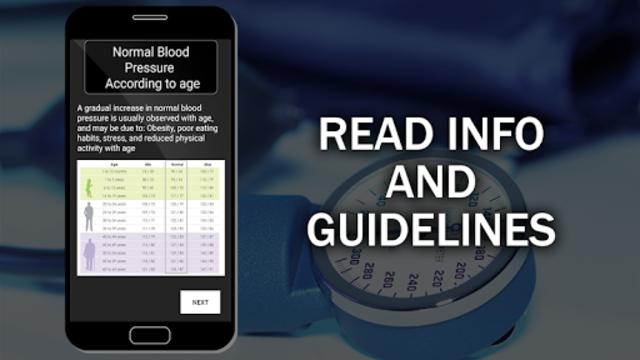 Blood Pressure Checker Diary : BP Info History Log screenshot 15