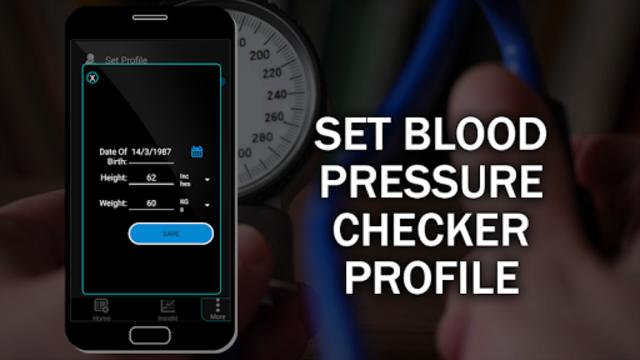 Blood Pressure Checker Diary : BP Info History Log screenshot 21