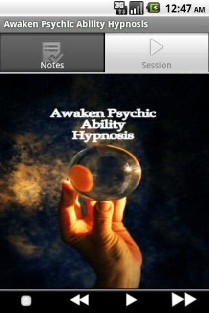 Psychic Ability Hypnosis screenshot 2