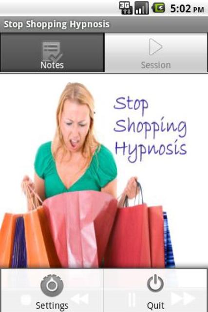 Stop Shopping Hypnosis screenshot 2