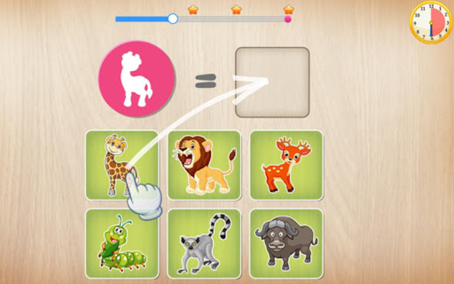 Animals Puzzle for Kids 🦁🐰🐬🐮🐶🐵 screenshot 19