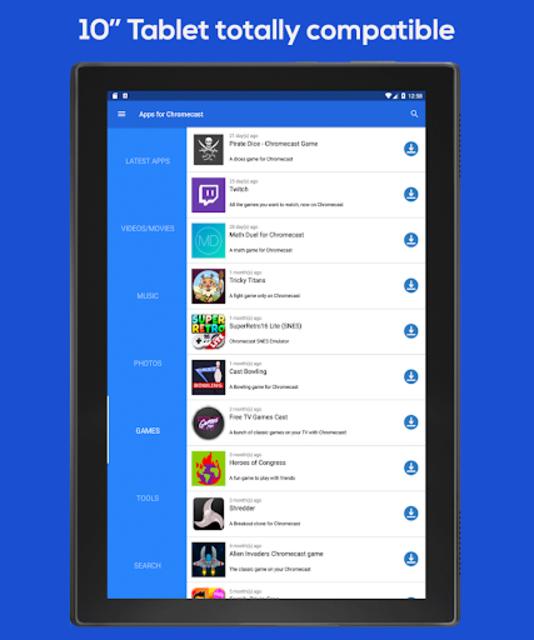 Apps for Chromecast - Your Chromecast Guide screenshot 6