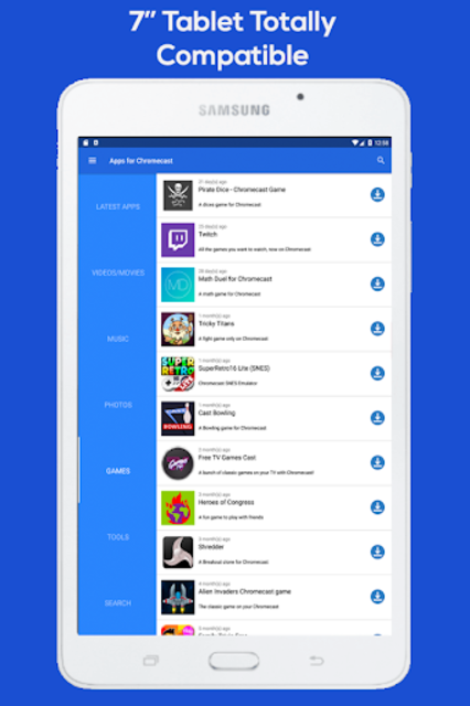 Apps for Chromecast - Your Chromecast Guide screenshot 7