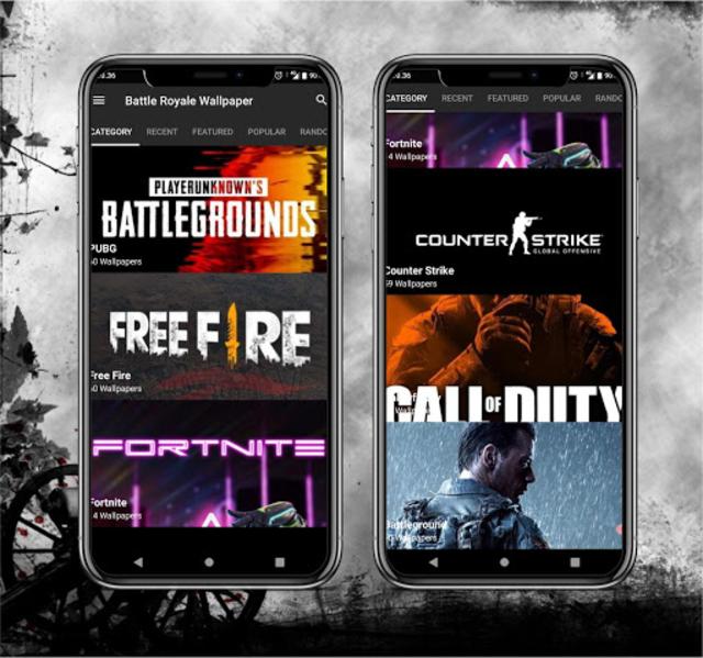 Battle Royale Wallpaper HD screenshot 2