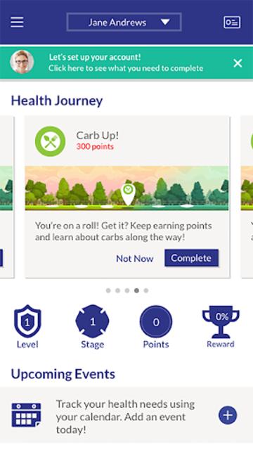 b.well - Connected Health screenshot 1