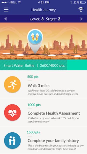 b.well - Connected Health screenshot 2