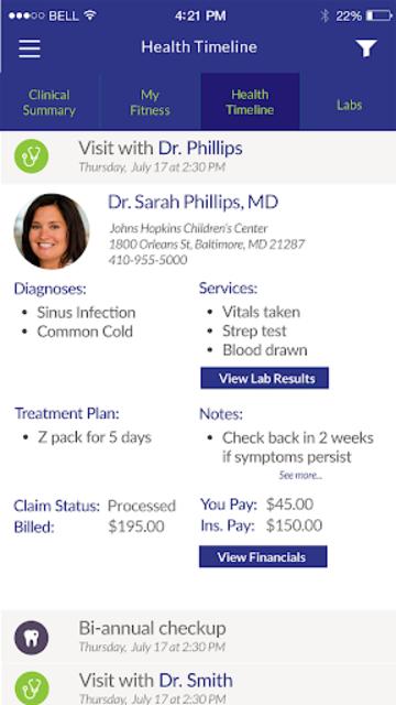 b.well - Connected Health screenshot 3
