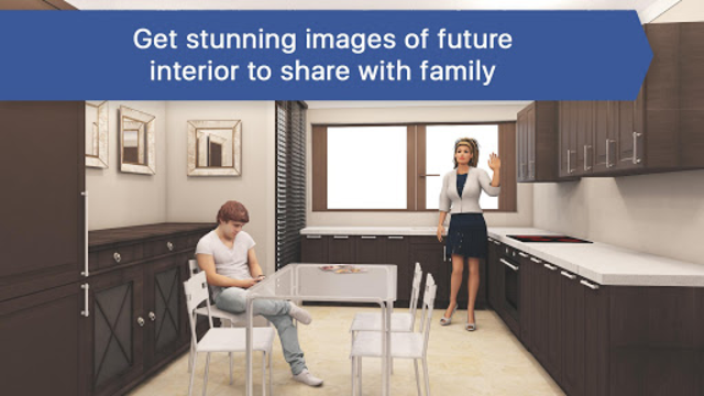 3D Kitchen Design for IKEA: Room Interior Planner screenshot 3
