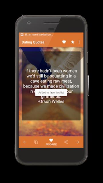 Dating Quotes screenshot 3