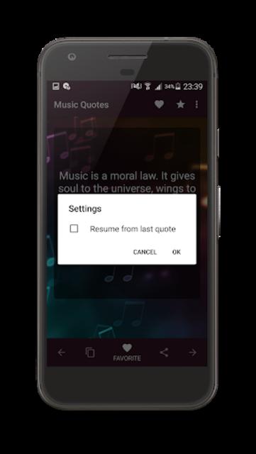 Music Quotes screenshot 18