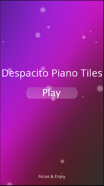 Despacito Piano Tiles screenshot 1