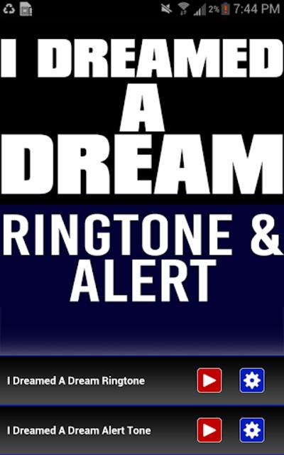 I Dreamed a Dream Ringtone screenshot 1