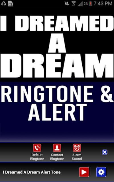 I Dreamed a Dream Ringtone screenshot 2