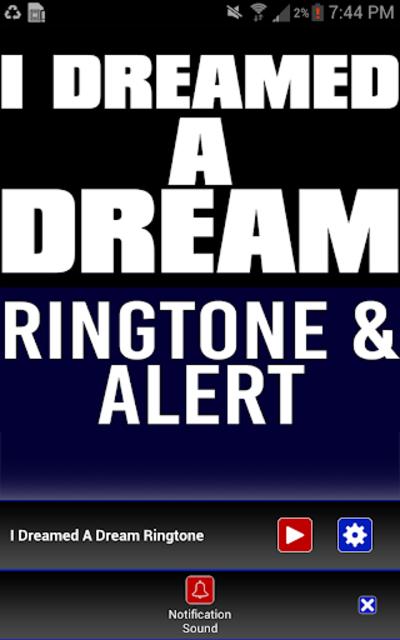 I Dreamed a Dream Ringtone screenshot 3