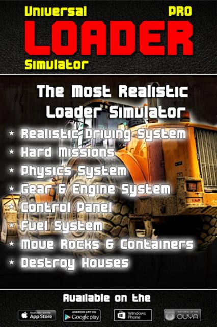 Loader Simulator PRO - ADV screenshot 1