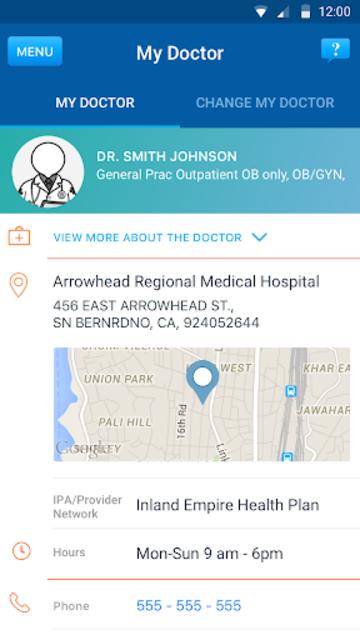 IEHP Smart Care screenshot 2