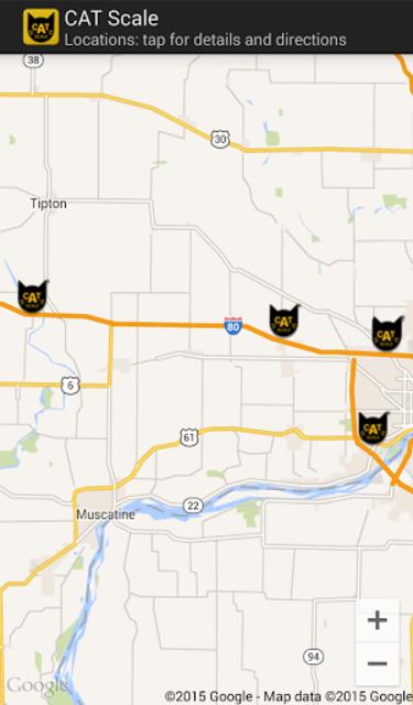 CAT Scale Locator screenshot 5