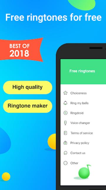 Free Ringtones and Ringtones Maker screenshot 1