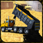 Crane Road Construction Dozer
