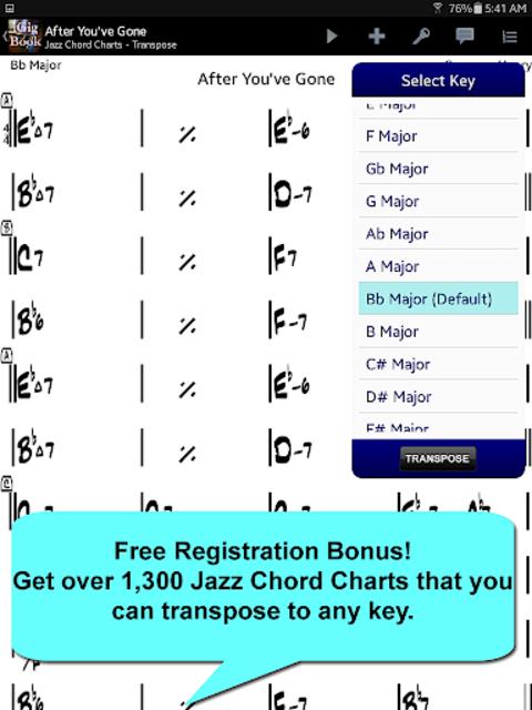 iGigBook Sheet Music Manager screenshot 5