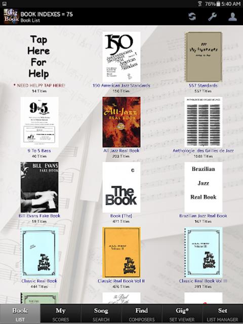 iGigBook Sheet Music Manager screenshot 7