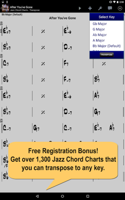 iGigBook Sheet Music Manager screenshot 1