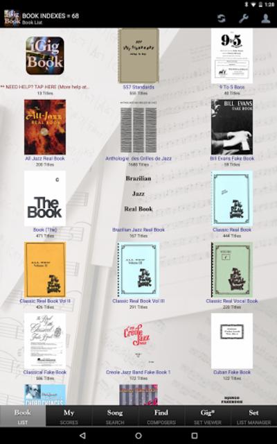iGigBook Sheet Music Manager screenshot 2