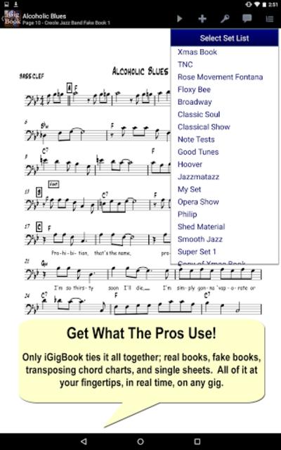 iGigBook Sheet Music Manager screenshot 4