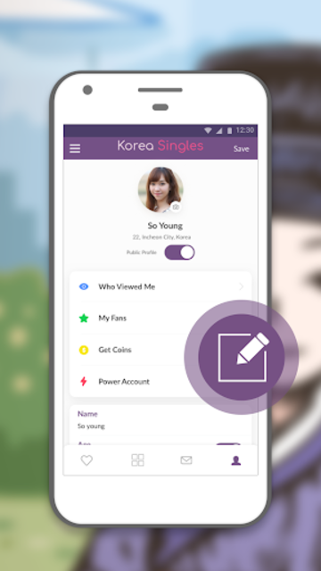 Korean Singles- Online Dating App to Date Koreans screenshot 1