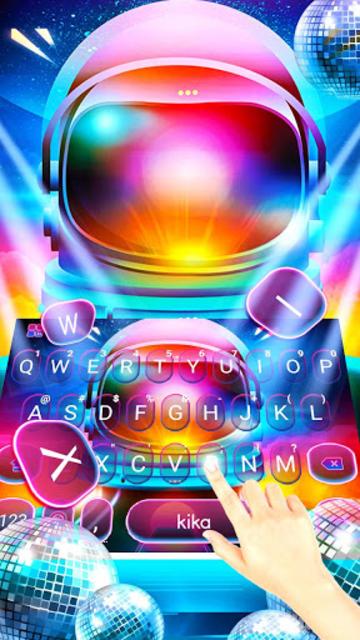 About: Disco Neon Light Beam Keyboard Theme (Google Play