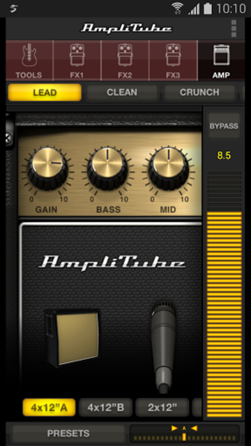 AmpliTube / Samsung Pro Audio screenshot 1