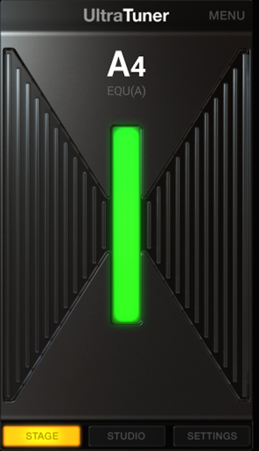 UltraTuner - Chromatic Tuner screenshot 1