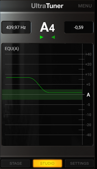 UltraTuner - Chromatic Tuner screenshot 3